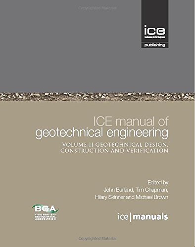 9780727736529: Ice Manual of Geotechnical Engineering