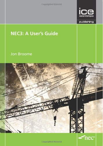 9780727741097: NEC3: A User's Guide