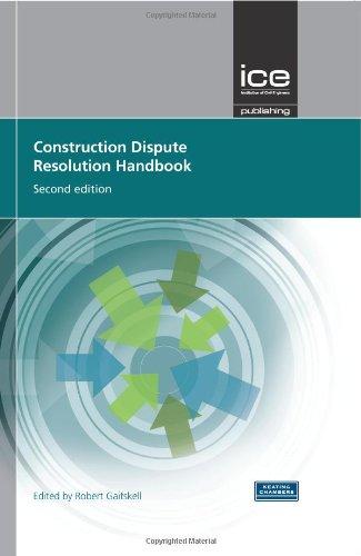 9780727741455: Construction Dispute Resolution Handbook (Construction Process and Proje)