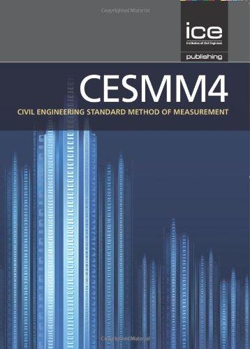 9780727757517: CESMM4: Civil Engineering Standard of Method and Measurement (CESMM4 Series)