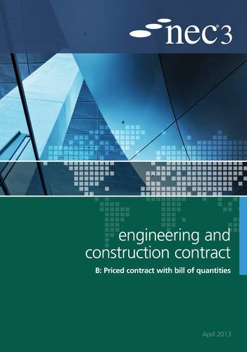 9780727758712: NEC3 Engineering and Construction Contract Option B: Price Contract with Bill of Quantitities