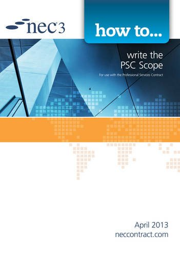 9780727759153: How to write the PSC Scope