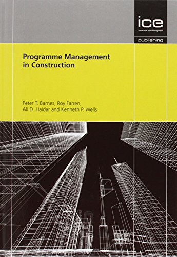 Programme Management in Construction: Ali Haidar, Kenneth