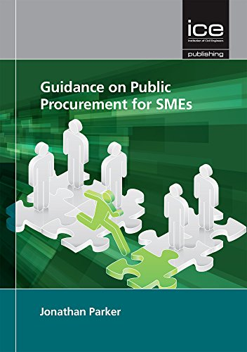 Guidance on Public Procurement for SMEs: Jonathan Parker