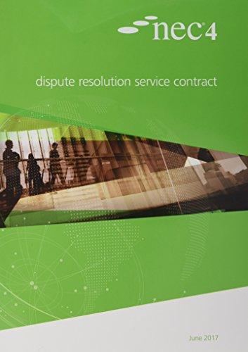 NEC4: Dispute Resolution Service Contract: NEC NEC