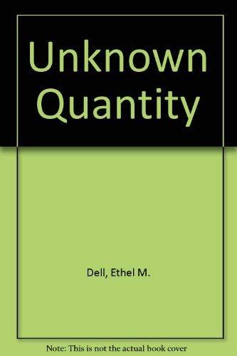9780727810519: Unknown Quantity