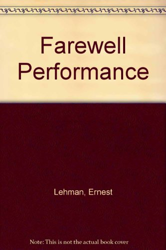 9780727810656: Farewell Performance