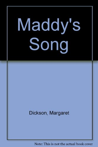 9780727812803: Maddy's Song