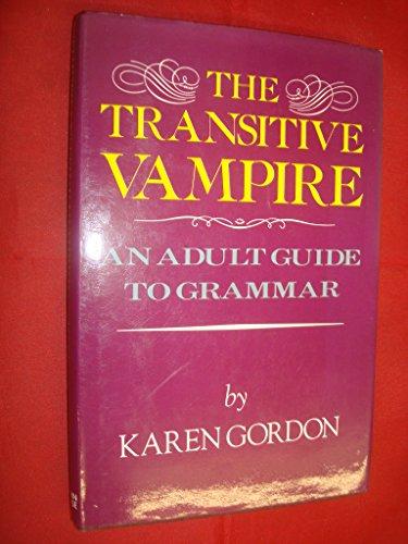 9780727820808: Transitive Vampire