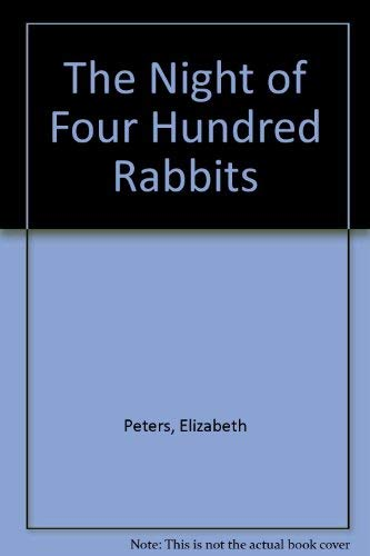 9780727843036: Night of Four Hundred Rabbits