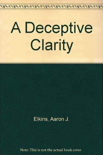 9780727844248: A Deceptive Clarity