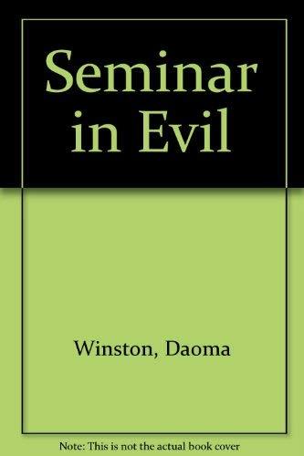9780727845429: Seminar in Evil