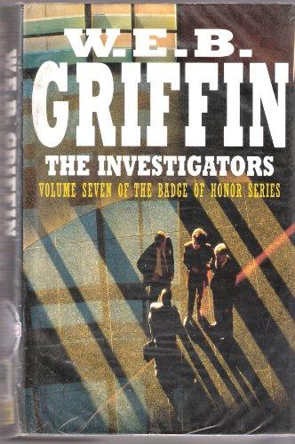 9780727854766: The Investigators: Badge of Honour Series Book 7