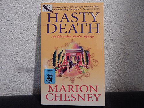9780727862600: Hasty Death