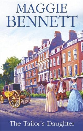 The Tailor's Daughter (Severn House Large Print): Maggie Bennett