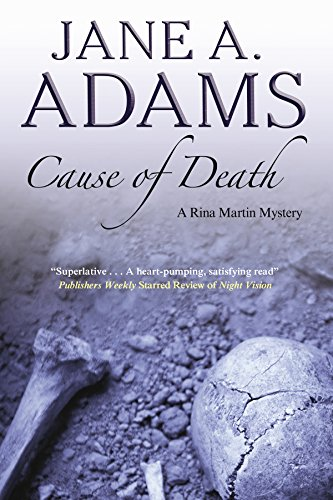 9780727872500: Cause of Death (Rina Martin Mysteries)
