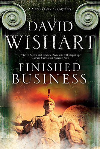 9780727872890: Finished Business: A Marcus Corvinus Mystery Set in Ancient Rome