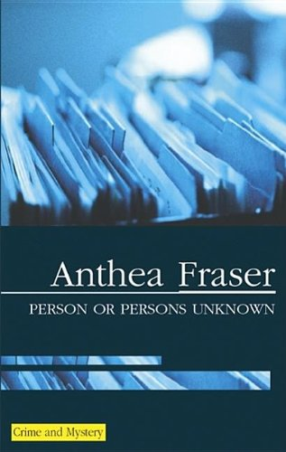 9780727875112: Person or Persons Unknown (A Rona Parish Mystery)