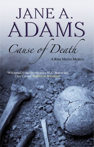9780727881731: Cause of Death (Rina Martin Mysteries)