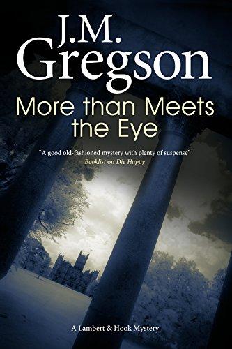 More Than Meets the Eye (A Lambert: J M Gregson