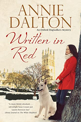 9780727885951: Written in Red: A spy thriller set in Oxford with echoes of the cold war (An Anna Hopkins Mystery)