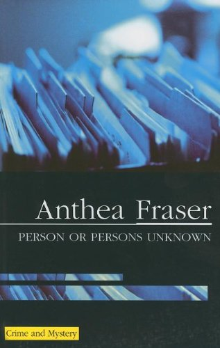 9780727891358: Person or Persons Unknown (A Rona Parish Mystery)
