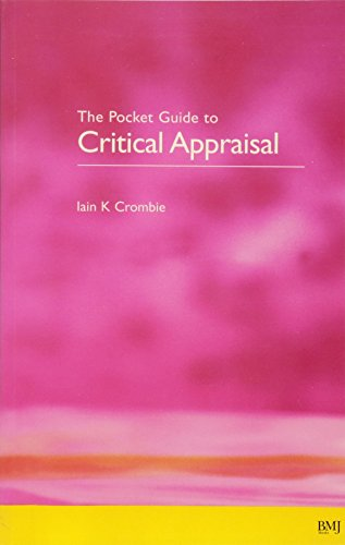 9780727910998: The Pocket Guide to Critical Appraisal: A Handbook for Health Care Professionals
