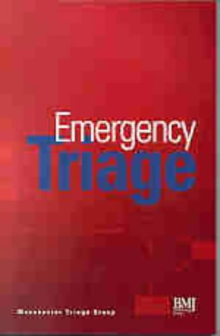 9780727911261: Emergency Triage - Manchester Triage Group