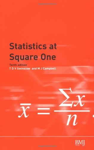 9780727915528: Statistics at Square One