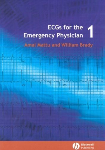9780727916549: ECG's for the Emergency Physician 1