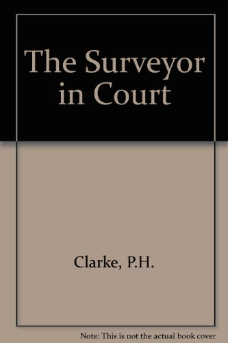 9780728200913: The Surveyor in Court