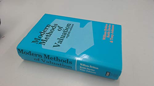 9780728201262: Modern Methods of Valuation of Land, Houses and Buildings