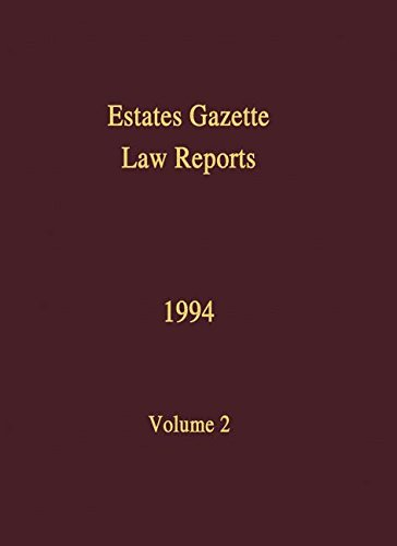 9780728202139: 2: EGLR 1994: v. 2 (Estates Gazette Law Reports)