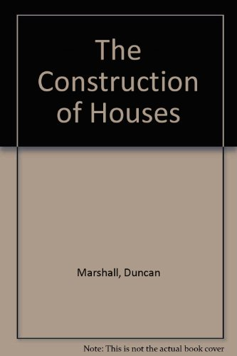 9780728202603: The Construction of Houses