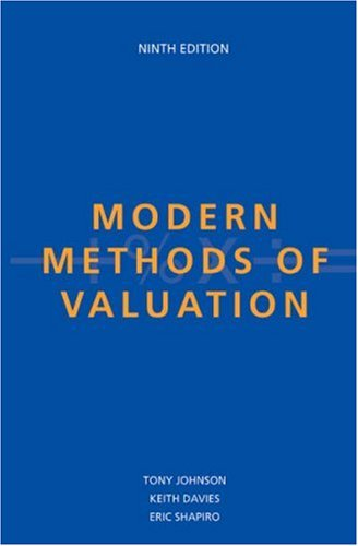9780728203464: Modern Methods of Valuation, Ninth Edition