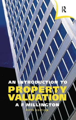 9780728203501: An Introduction to Property Valuation