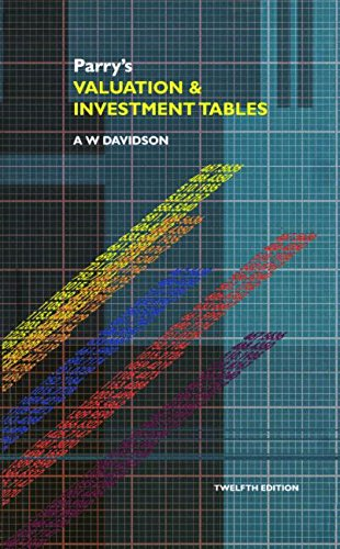 9780728203686: Parry's Valuation and Investment Tables, Twelfth Edition