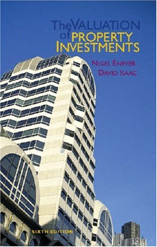 9780728203693: The Valuation of Property Investments, Sixth Edition