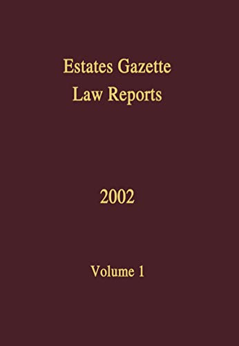 9780728203815: EGLR 2002: v. 1 (Estates Gazette Law Reports)