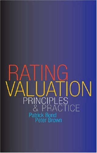 9780728203952: Rating Valuation Principles & Practice: Principles and Practice
