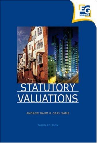 9780728204553: Statutory Valuations, Third Edition