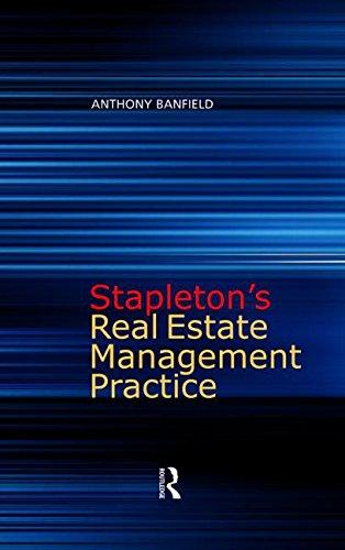 9780728204829: Stapleton's Real Estate Management Practice, Third Edition