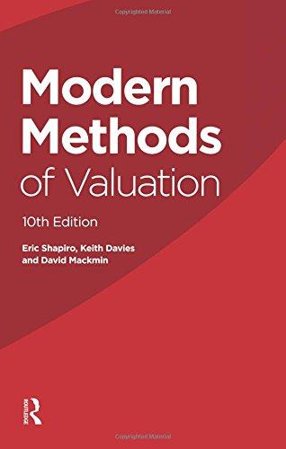 9780728205086: Modern Methods of Valuation