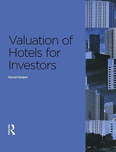 9780728205222: Valuation of Hotels for Investors