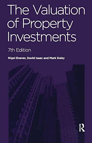 9780728205505: The Valuation of Property Investments
