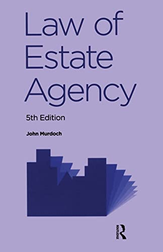 9780728205598: Law of Estate Agency