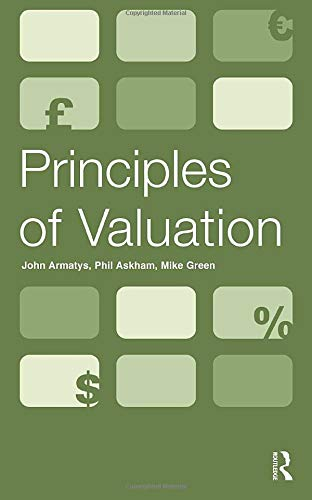 9780728205680: Principles of Valuation