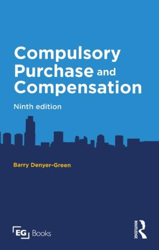 9780728205741: Compulsory Purchase and Compensation