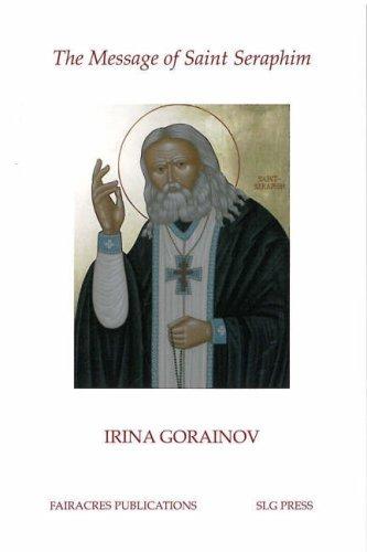 9780728300200: Message of St. Seraphim (Fairacres Publication)