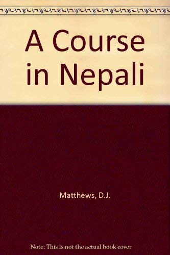 9780728601154: Course in Nepali